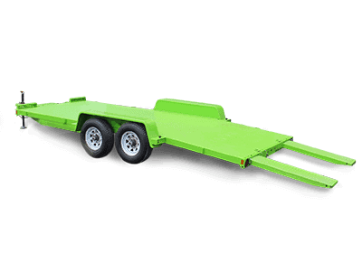 Steel Car Hauler Trailer