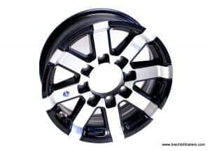 Series 7 Aluminum Trailer Wheel