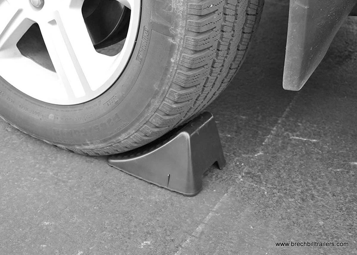 Heavy Duty Poly Wheel Chock
