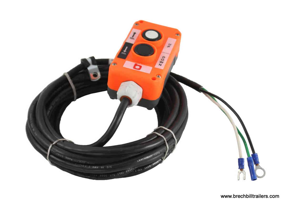 Hydraulic Power Up Gravity Down Pump Remote