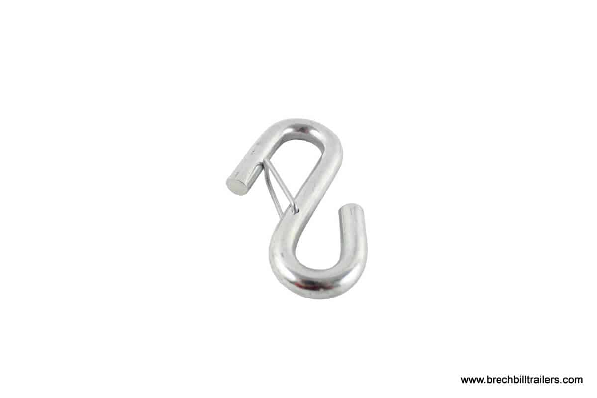 Zinc S-Hook With Latch