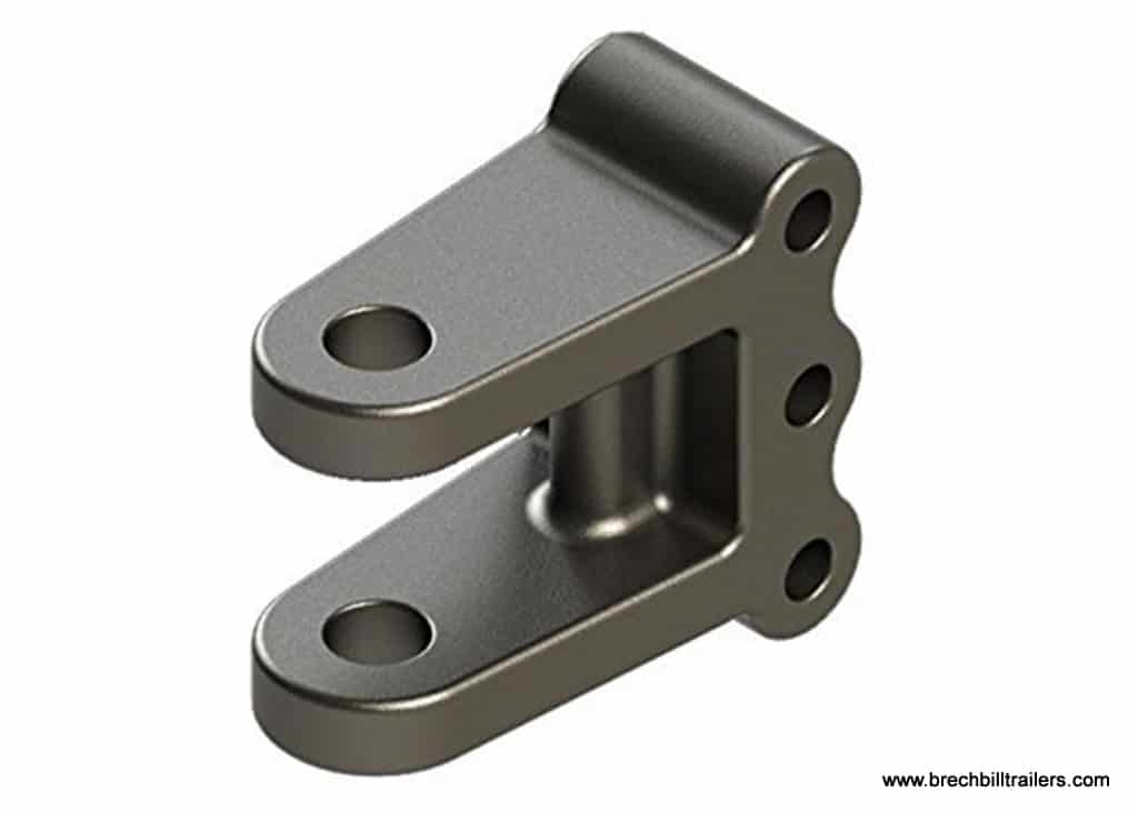 Wallace Forge Adjustable 3-Bolt Clevis