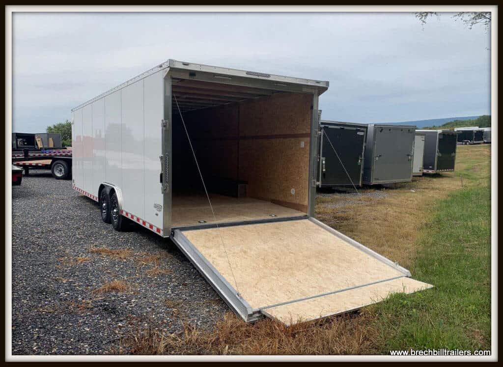 Bravo Aluminum Star Enclosed Cargo Trailer Bravo Aluminum Star Enclosed Cargo Trailer