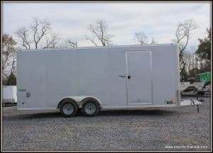 Bravo Aluminum Star Enclosed Cargo Trailer 97x19'8x7K (SSAC8520TA2) SILVER