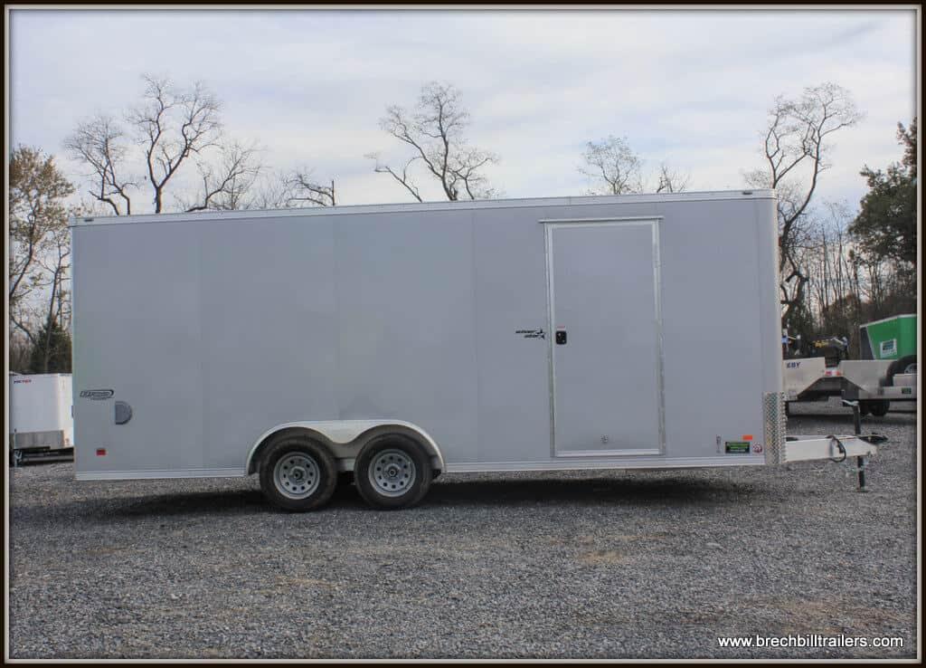 Bravo Aluminum Star Enclosed Cargo Trailer 97x19'8x7K (SSAC8520TA2) SILVER