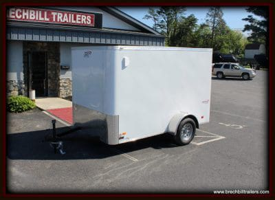 Bravo Scout Enclosed Cargo Trailer 68x10'5x3K (SC610SA) white