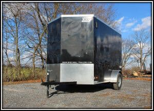 Bravo Scout Enclosed Cargo Trailer 6'x10'x3K (SC610SA)