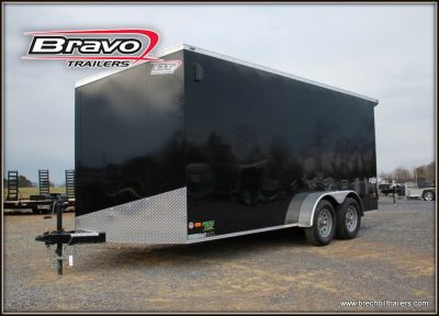 Bravo Scout Enclosed Cargo Trailer sc716ta2