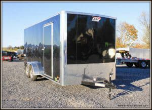 Bravo Scout Enclosed Cargo Trailer 81x16'6x7K (SC716TA2)