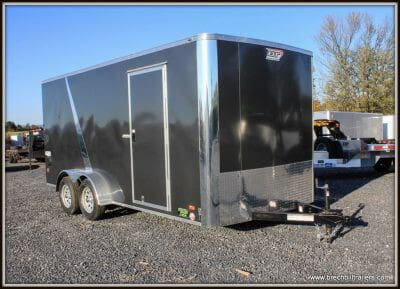 Bravo Scout Enclosed Cargo Trailer 81x16'6x7K (SC716TA2)