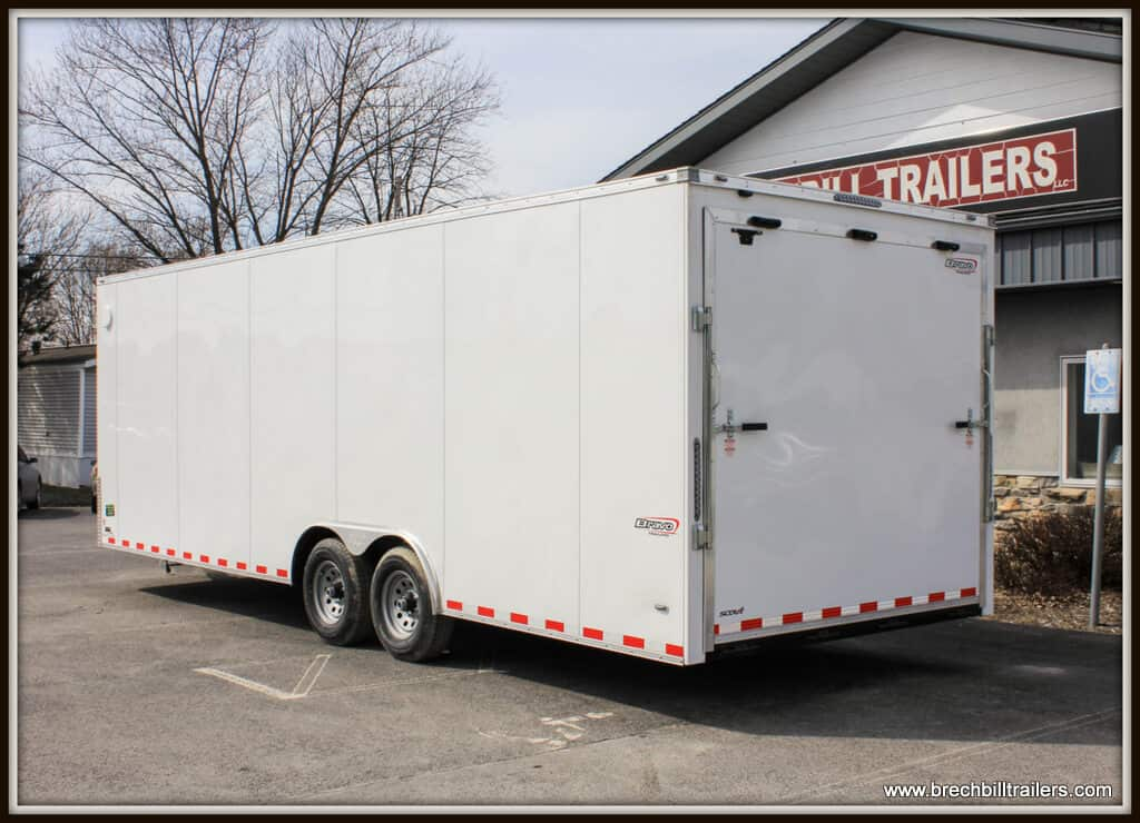 Bravo Scout Enclosed Cargo Trailer