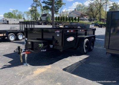 BLACK DUMP TRAILER BRI-MAR BRECHBILL TRAILER SALES