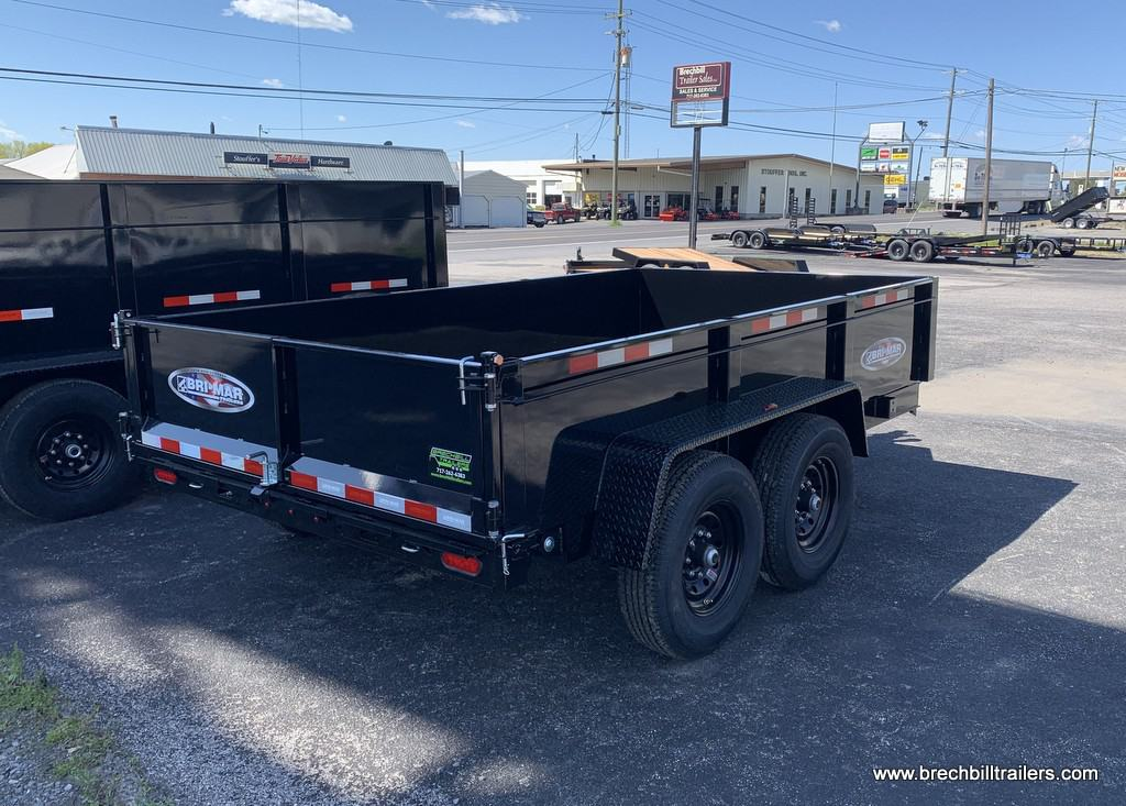 BLACK DUMP TRAILER BRI-MAR BRECHBILL TRAILER SALES Picture