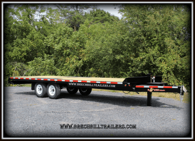 bLACK Bwise Tilt-Deck Trailer