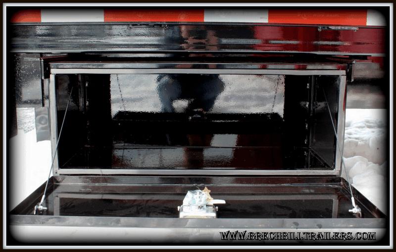 tool box Bwise Tilt-Deck Trailer