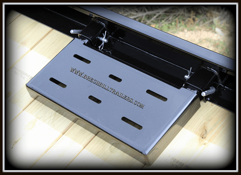 winch mount plate Bwise Tilt-Deck Trailer