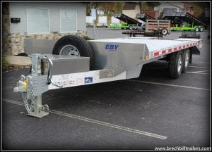 eby deck over equipment trailer