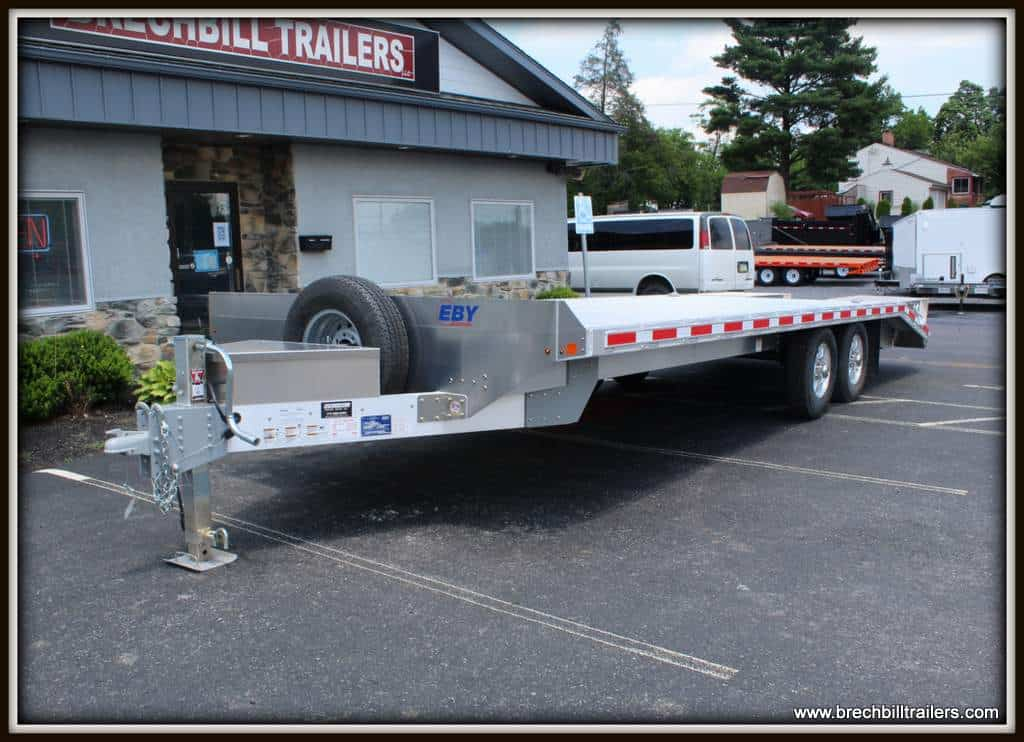 EBY Deck-Over Equipment Trailer