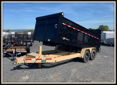 Used 2018 Bwise Dump Trailer
