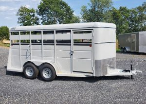 silver gray valley stock trailer for sale near me