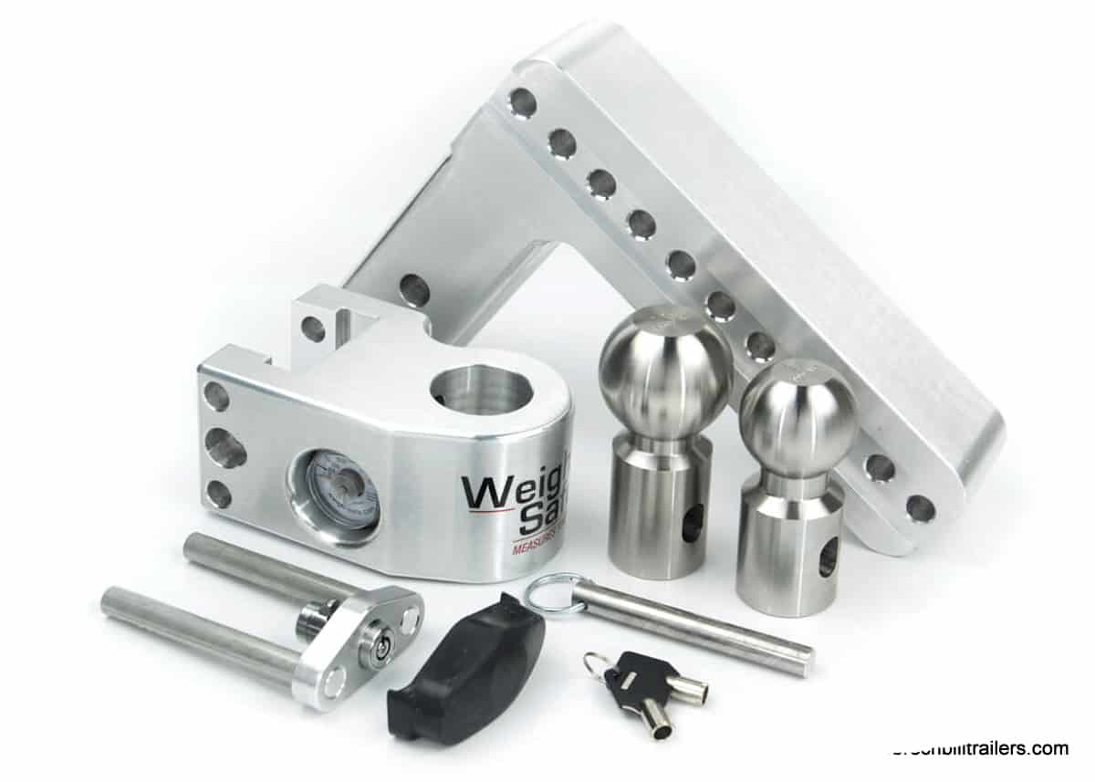 Weigh Safe 8 Drop Hitch with 2.5 Shank (WS8-2.5)
