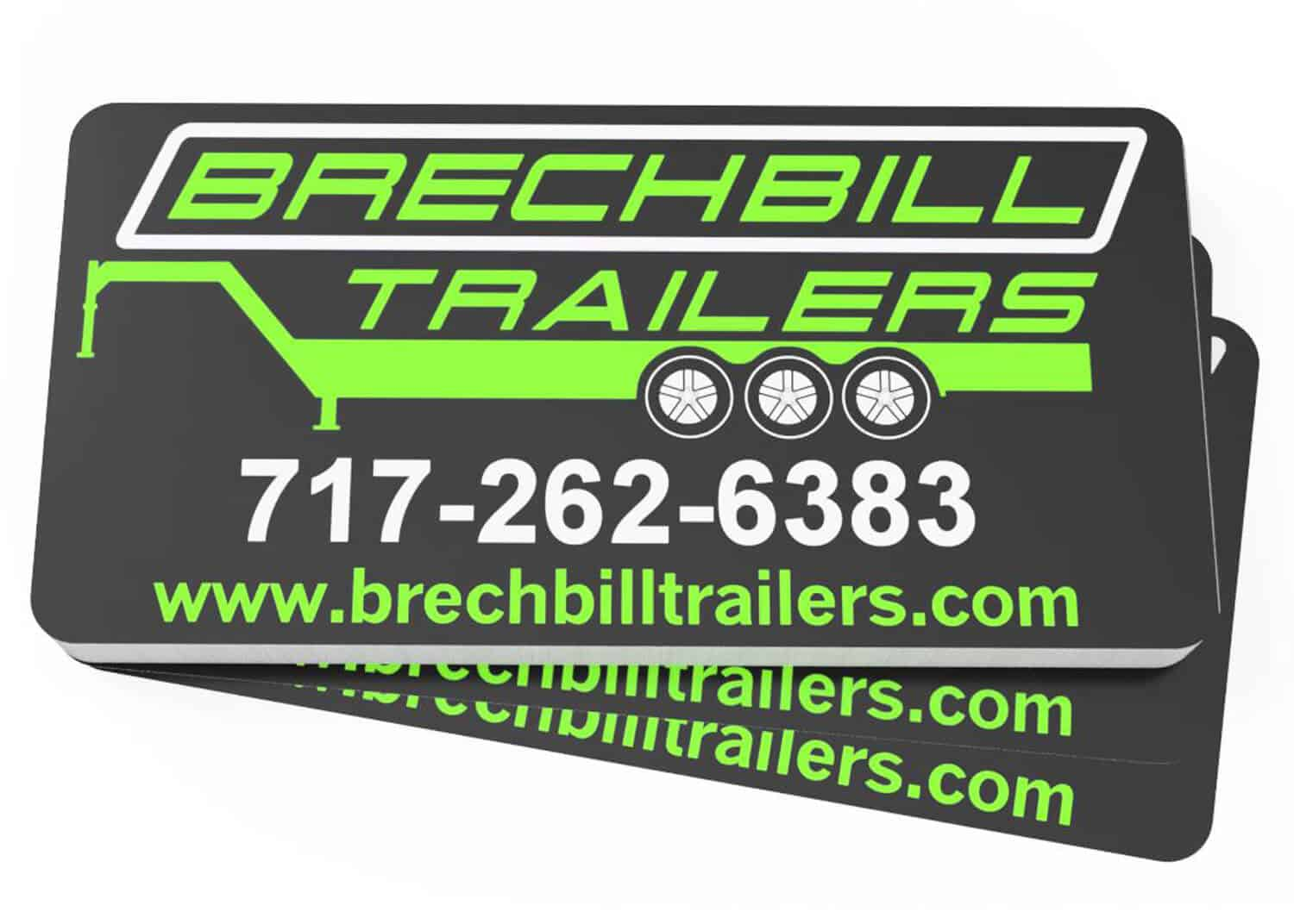 Brechbill Trailer Sales Decals