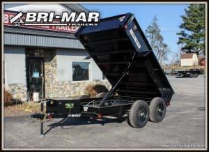 Black Bri-Mar Dump Trailer for sale near me