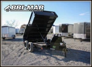 BLACK DUMP TRAILER FOR SALE BRI-MAR