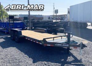 BLACK BRI-MAR EH18-14-HD EQUIPMENT TRAILER FOR SALE NEAR ME