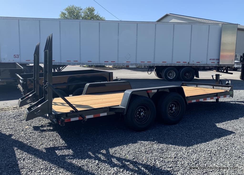 BLACK BRI-MAR EH18-14-HD EQUIPMENT TRAILER FOR SALE NEAR ME
