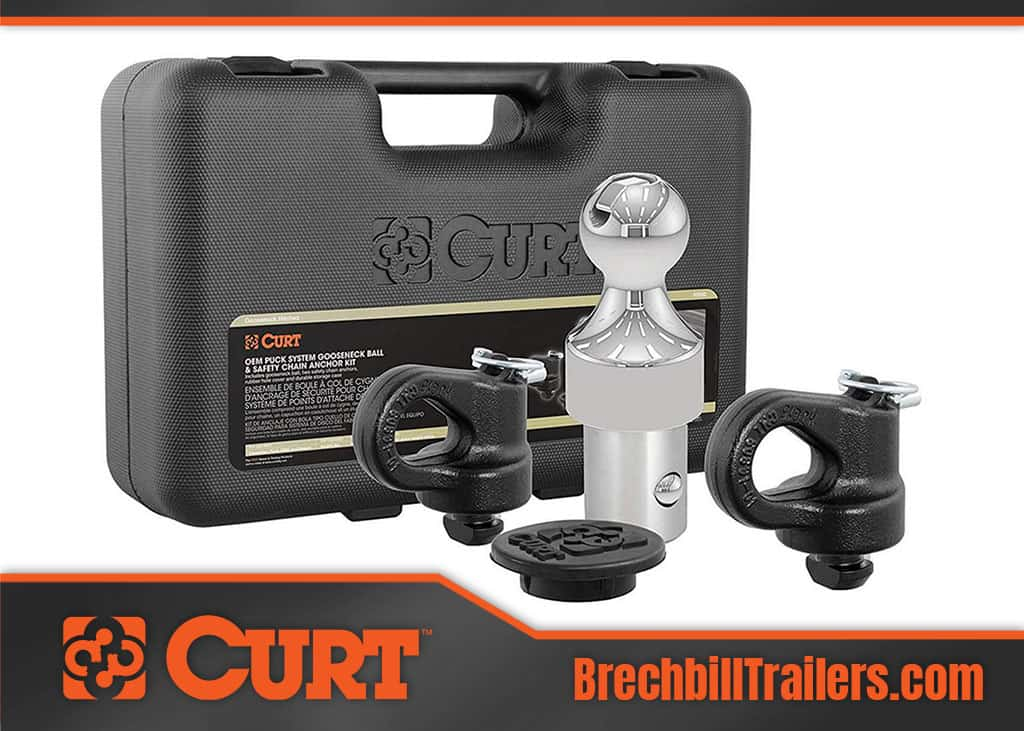 The Curt OEM Puck System Gooseneck Hitch 60618 & 60692