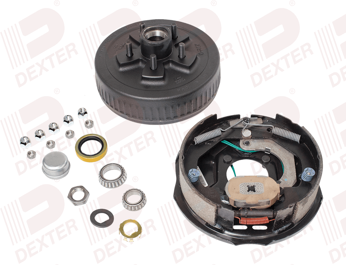 Dexter 3.5K Axle 10 Electric Brake