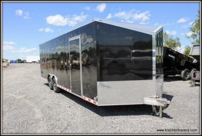 Bravo Aluminum Star Enclosed Cargo Trailer