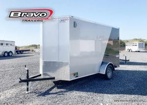 ENCLOSED BOX CARGO HAULER CLOSED COVERED STEEL TRAILER FOR SALE NEAR ME