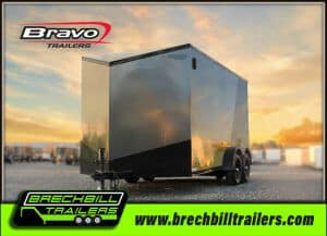 Bravo Scout Enclosed Cargo Trailer 81x14'6x7K (SC714TA2)