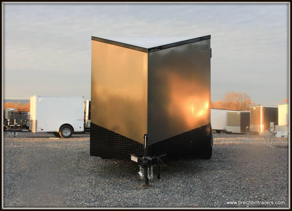 Bravo Scout Enclosed Cargo Trailer 81x14'6x7K (SC714TA2)