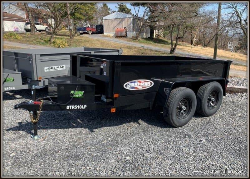 Bri-Mar Dump Trailer DTR510LP-10