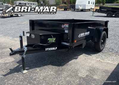 BLACK DUMP TRAILER FOR SALE NEAR ME BRI-MAR
