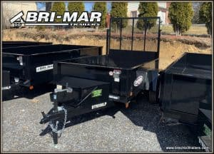 BLACK DUMP TRAILER FOR SALE NEAR ME
