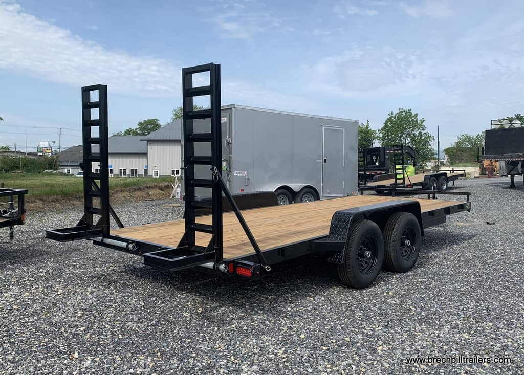 BLACK EQUIPMENT FENDER STYLE TRAILER