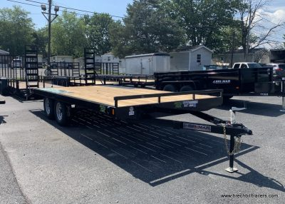 FLAT DECK OVER EQUIPMENT TRAILER FOR SALE NEAR ME