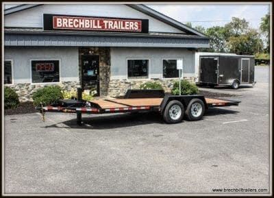 Bwise Low Profile Hydraulic Tilt Trailer