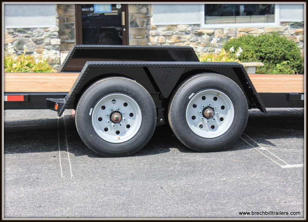 Bwise Low Profile Hydraulic Tilt Trailer