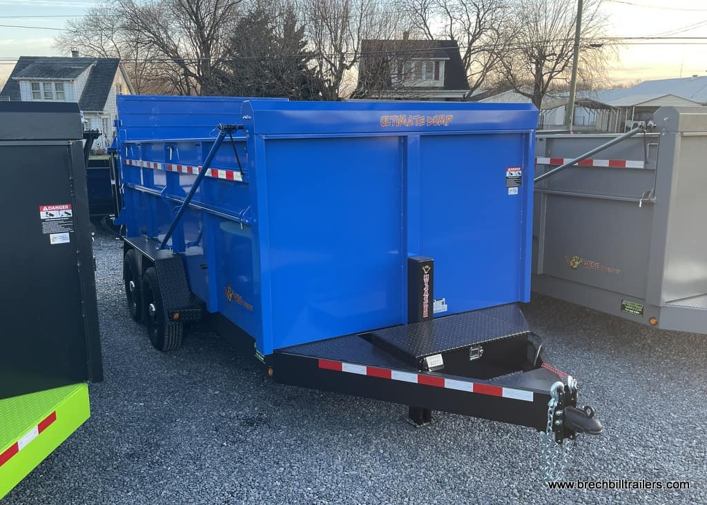 NEW BIG STEEL DUMP TRAILER FOR SALE NEAR ME