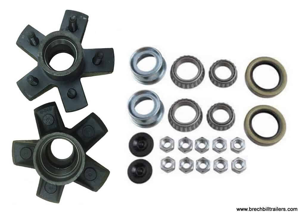 o Trailer 3.5K Axle Idler Hub Kits