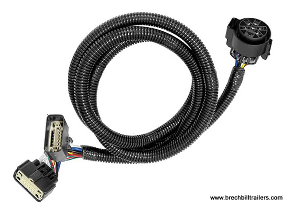 Tekonsha 7 Way Socket  U0026 Tow Wiring Harness For 11