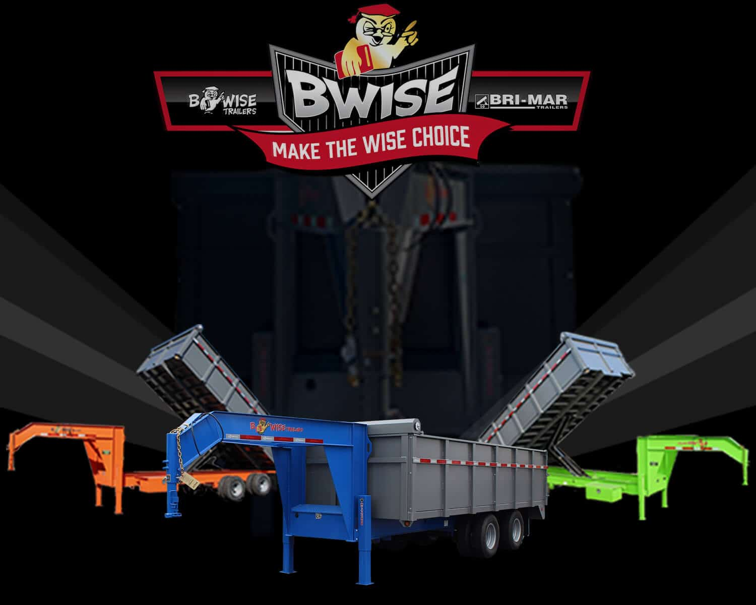 Bwise HD Dump Trailer
