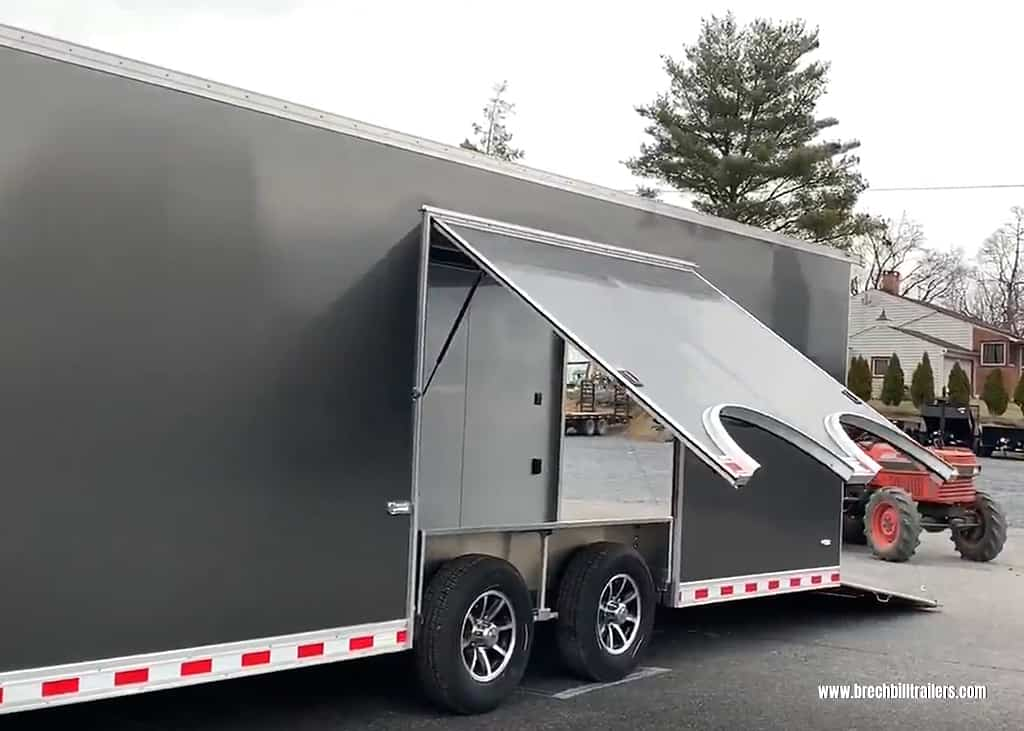 Bravo Aluminum Star Enclosed Cargo Trailer ASTAP8528TA4
