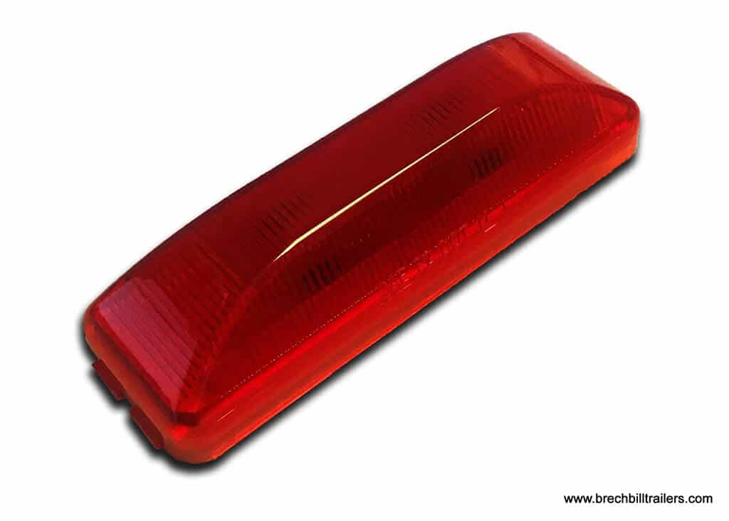 LED Red Marker Clearance Light