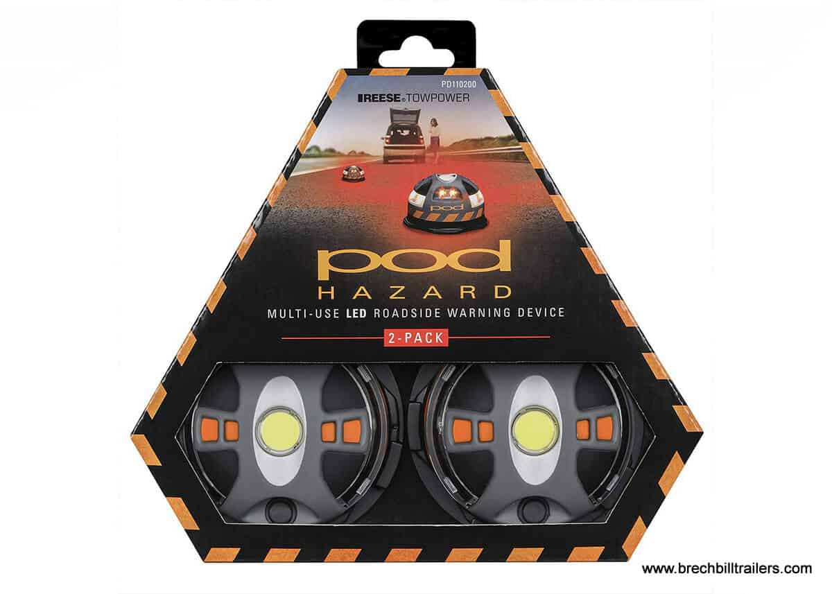 Pod Hazard Warning LED Light